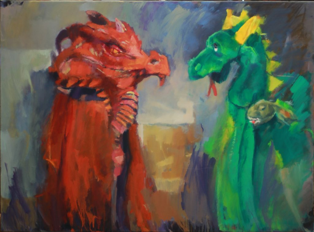 Dragons, by Henryk Ptasiewicz