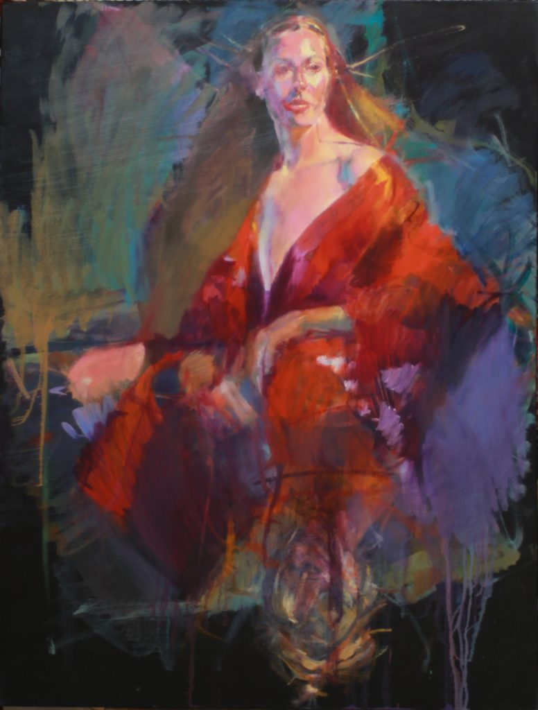Kendra by Henryk Ptasiewicz 48x36 oil on canvas-web