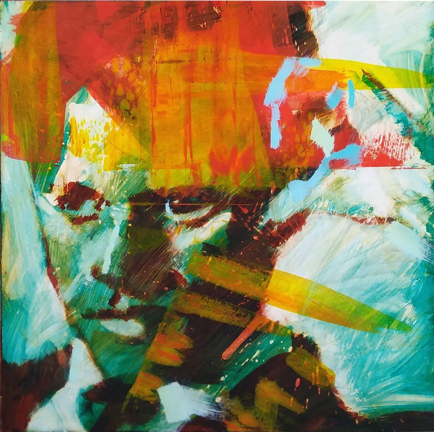 Bobby Kennedy by Henryk Ptaswiewicz Acrylic on Cradled Panel 24x24